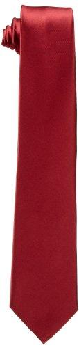 Dockers Neckwear Big Boys' Solid Tie, Red, One Size