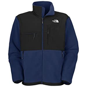 The North Face Denali Jacket - Men's Deep Water Blue/TNF Black Medium by The North Face