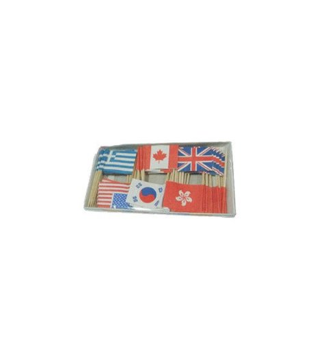 Nice£¡60X Paper Convenient flag Tooth-Pick