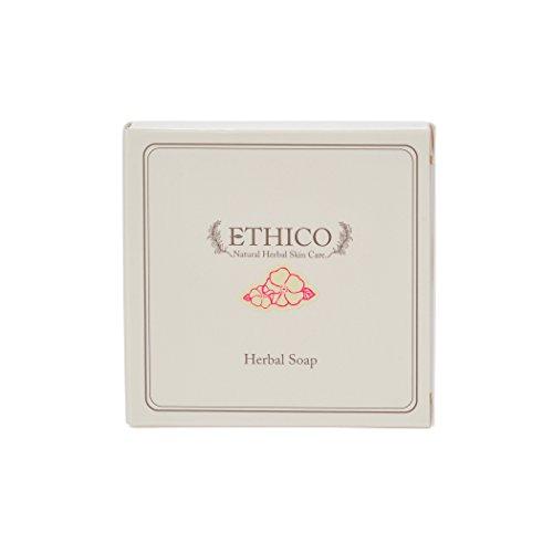 ETHICOハーバル洗顔石鹸 ハマナス 90g