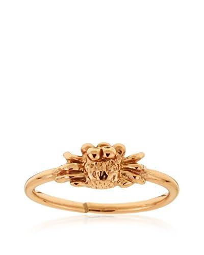 Córdoba Jewels Anillo plata de ley 925 milésimas bañada en oro