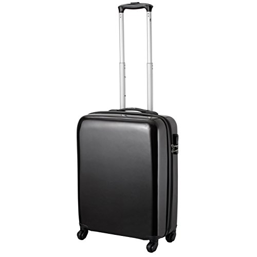 cabin max icon valise trolley cabine 4 roues abs rigide 55 x 40 x 20 cm noir avis boutique. Black Bedroom Furniture Sets. Home Design Ideas
