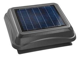Broan 345So Solar Powered Attic Ventilator, Surface Mount, Weathered Wood