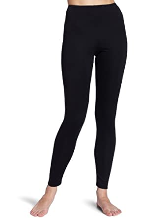 Cuddl Duds Women's Climate Smart Legging, Black, X-Large