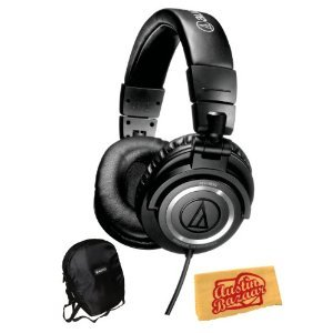 [Parallel import goods] Audio Technica Audio-Technica ATH-M 50 s Professional Studio Monitor Headphone headphones Bundle with Carrying Case and Polishing Cloth