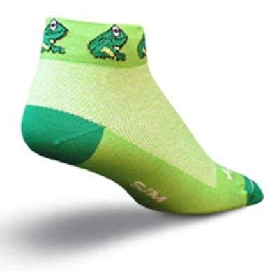 Buy Low Price SockGuy Women's 1in Froggie Cycling/Running Socks (B005HFNDBG)