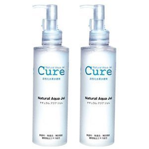 2-pack-of-natural-aqua-gel-cure-250g-with-4-cure-trial-samples-4-organically-produced-special-cotton