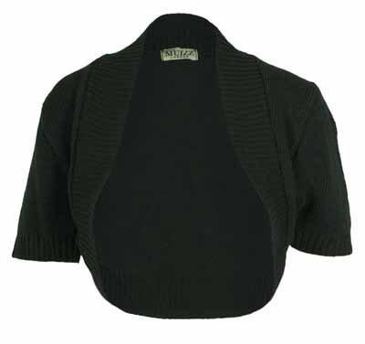 purple hanger gilet style bol ro pour femmes manche courte tricot fronc noir 40 42. Black Bedroom Furniture Sets. Home Design Ideas