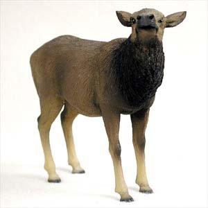 Elk Cow Standard Figurine