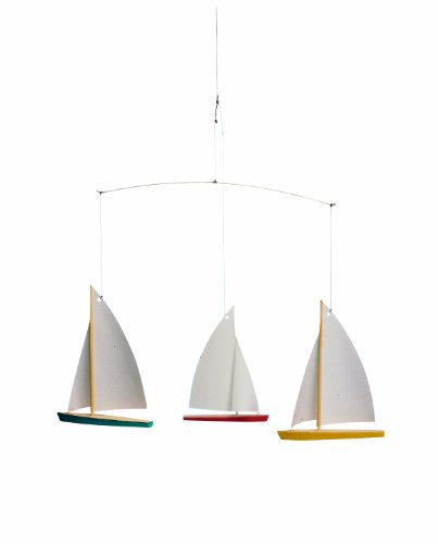 Flensted Mobiles Nursery Mobiles, 3 Dinghy Regatta