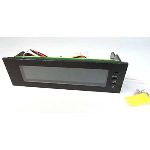 シングル用 LCD 液晶 PC ファン コントローラー