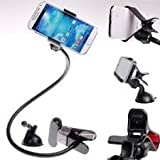 SBA BRANDED ORIGINAL 100% GENUINE QUALITY ONLY FROM V.A. BRANDS UNIVERSAL LONG ARM LAZY MOBILE PHONE HOLDER STAND...