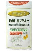 キャナ 亜麻仁油フラオー 180粒
