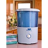 Mini Countertop Spin Dryer Clothes Spin Dryer Portable Clothes Dryer ~ The Laundry Alternative