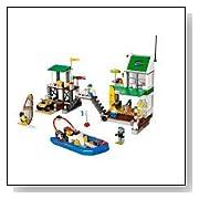 LEGO City Harbour Marina 4644