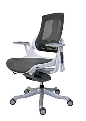 Eurotech - Office Chair, Mid Back Wau Mid White - Color: White