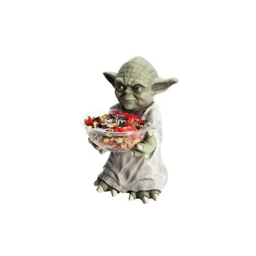 Star wars yoda candy holder adult sized costumes toys games for Decor star 005 ss