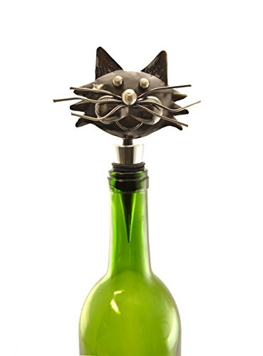 Cat Wine Stopper by Wine Bodies
