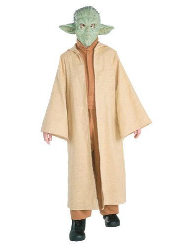 Yoda Deluxe Kids Costume Md 8-10 Kids Boys Costume