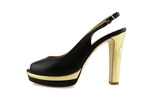 LIU JO 40 EU sandali nero pelle AH772