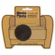 Mastaplasta - Leather Repair Plasta 2-Inch Diameter Plain Small Circle Design Brown front-84778