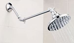 Faucetland 004002375 Rain Shower Head with Filter