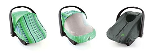 Cozy Combo Pack - Green Sun & Bug Cover & Lightweight Cozy Cover front-821782
