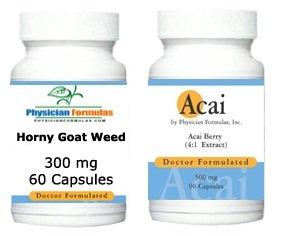 Free Acai 500mg, 90 Capsules* w/ Horny Goat Weed