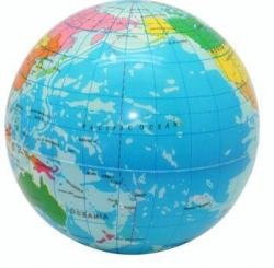 Squeezie Globe Ball - Pack of 3