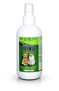 Mercola Natural Flea and Tick Defense Spray (1 Bottle) from Mercola