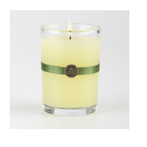 Aromatique Orange & Evergreen Candle in Glass