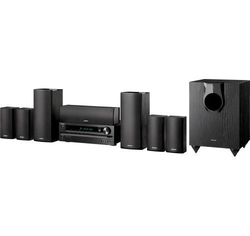 Onkyo HT-S5500 7.1-Channel Home Theater Speaker/Receiver Package