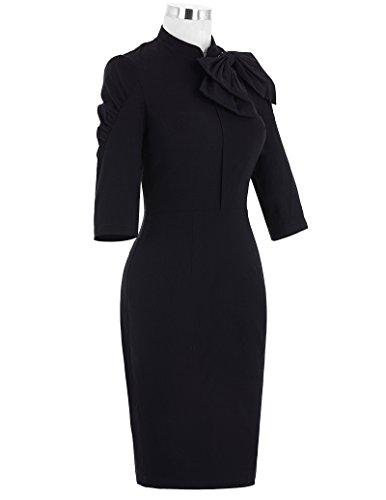 Belle Poque Women 50s Bodycon Dress Slim Vintage Pencil Dress BP106/146 3