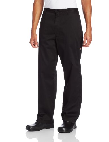 Dickies Men's The Professional Chef Pant, Black, Medium (Mens Black Chef Pants compare prices)