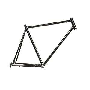 CFG Cycle Force Cro-mo Road Frame, 56cm/Large, Black