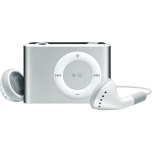 Apple iPod shuffle 2 GB Silver (2nd Generation) OLD MODEL