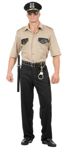 Men's Cal Cop Adult Costume