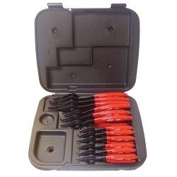 Kastar Hand Tools (KAS3495) 12 Piece Combination Interior/Exterior Retaining Ring Pliers Set
