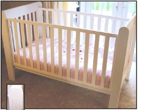 The Wilmslow White Day Cot Bed