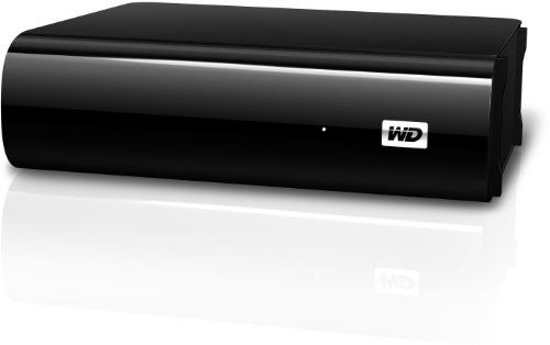 """2TB My Book AV TV Externe Festplatte Desktop 3,5"""" USB3.0 und 2.0 für TV Aufnahmen, reibungslose AV-Wiedergabe, USB-Kabel - 2 m, Flexibles Design für liegende oder stehende Aufstellung"""