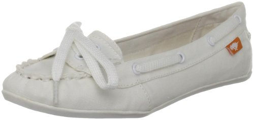 Rocket Dog Women's Docked White Boat Shoes DOCKEDCV 6 UK