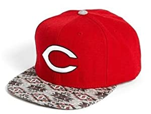 MLB Cincinnati Reds American Needle Limited Edition Native Imprint Faux Leather... by American Needle