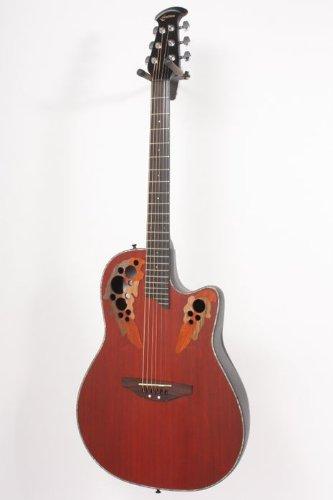 Ovation Celebrity Deluxe Cc48 Acoustic-Electric Guitar, Padauk