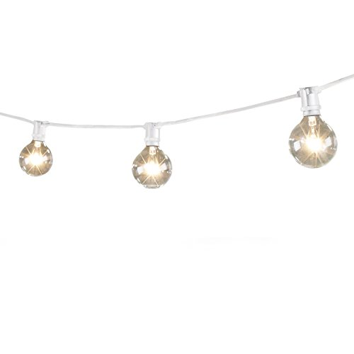Mini Patio String Lights : Bulbrite String15/e12 Outdoor Mini String Light W/incandescent G16 Globe Bulbs, eBay