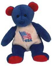 MARY MEYER PLUSH BEAR ~ USA