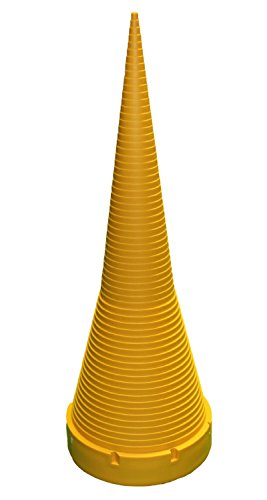 small-parts-o-ring-sizing-cone-17-1-2-inches-tall-plastic-yellow