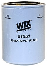Wix 51551 Spin-On Hydraulic Filter, Pack of 1