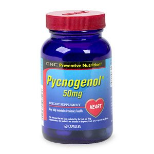 GNC Preventive Nutrition Pycnogenol 50mg 60