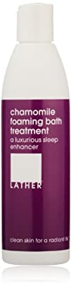 LATHER Chamomile Foaming Bath Treatment 8-Ounce Bottle