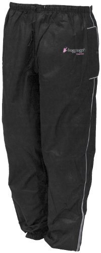 Frogg Toggs Women's Sweet T Rain Pants - Small/Black by Frogg Toggs